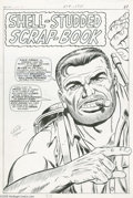 Original Comic Art:Splash Pages, Dick Ayers and John Tartaglione - Sgt. Fury Annual #3 Pin-UpOriginal Art (Marvel, 1967). Face front ya heroes-- it's Sgt. F...