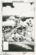 Original Comic Art:Covers, Mark Bright and Al Williamson - Spider-Man Versus Wolverine CoverOriginal Art (Marvel, 1987). Spider-Man versus Wolverine -... (2items)
