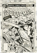 Original Comic Art:Covers, John Byrne and Bob McLeod - Amazing Spider-Man #189 Cover OriginalArt (Marvel, 1979). Who was the mystery menace, all wrapp...