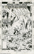 Original Comic Art:Covers, John Byrne and Bob Layton - X-Men #113 Cover Original Art (Marvel,1978). Face front True Believers, and feast your eyes on ...