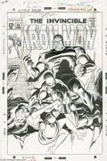 Original Comic Art:Covers, Johnny Craig - Iron Man #14 Cover Original Art (Marvel, 1969). ECalumnus Johnny Craig applied his highly polished line to M...