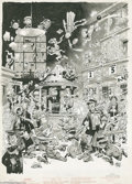 Original Comic Art:Panel Pages, Jack Davis - Mad Magazine #29 page Original Art, Group of 5 (EC,1956). Celebrate the joys (and tribulations) of a summer at...