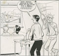 Original Comic Art:Covers, Bob Montana (attributed) - Jughead #127 Cover Original Art (Archie,1965). Jughead's home-movie narration was about to be cu... (2items)