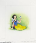 """Original Comic Art:Sketches, Western Publishing Artist - """"Snow White Finds a Home"""" Golden Book Illustration Original Art, Group of 2 (Western Publishing Co... (5 items)"""