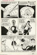 Original Comic Art:Panel Pages, Steve Ditko and Don Heck - Tales of Suspense #47, page 22 OriginalArt (Marvel, 1963). Just eight issues after his debut, Ir...