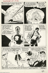 Steve Ditko and Don Heck - Tales of Suspense #47, page 22 Original Art (Marvel, 1963). Just eight issues after his debut...
