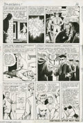 Original Comic Art:Panel Pages, Bill Everett - Daredevil #1, page 13 Original Art (Marvel, 1964).Events moved fast in the fabulous first issue of Daredev...