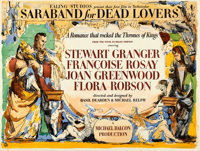 "Saraband for Dead Lovers (Ealing, 1948). British Quad (30"" X 40"") Robert Medley Artwork"