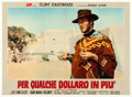 "Movie Posters:Western, For a Few Dollars More (PEA, 1965). Italian Photobusta (36.5"" X 26.5"").. ..."