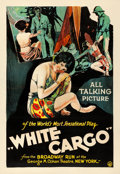 "Movie Posters:Drama, White Cargo (BIP, 1930). One Sheet (28.25"" X 41.25"").. ..."