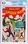 Silver Age (1956-1969):Superhero, The Amazing Spider-Man #2 (Marvel, 1963) CGC Conserved VF+ 8.5White pages....
