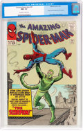 Silver Age (1956-1969):Superhero, The Amazing Spider-Man #20 (Marvel, 1965) CGC NM- 9.2 Off-white towhite pages....