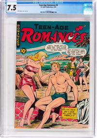 Teen-Age Romances #9 (St. John, 1950) CGC VF- 7.5 Off-white to white pages