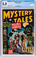 Golden Age (1938-1955):Horror, Mystery Tales #8 (Atlas, 1953) CGC VG/FN 5.0 Cream to off-...