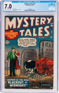 Golden Age (1938-1955):Horror, Mystery Tales #5 (Atlas, 1952) CGC FN/VF 7.0 Off-white to ...