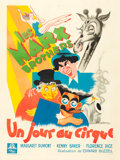 "Movie Posters:Comedy, At the Circus (MGM, 1939). French Grande (47"" X 62..."