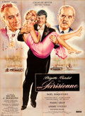 "Movie Posters:Foreign, La Parisienne (Cinedis, 1957). Full-Bleed French Grande (47"" X 62.75"") Jean Mascii Artwork.. ..."
