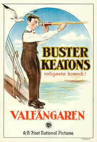 """The Love Nest (First National Pictures, 1924). Swedish One Sheet (24.25"""" X 35.5"""")"""