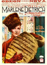 "The Scarlet Empress (Paramount, 1934). Pre-War Belgian (24"" X 33"")"