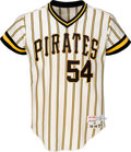 Baseball Collectibles:Uniforms, 1977 Goose Gossage Game Worn Pittsburgh Pirates Jersey with Team Letter & Photo Match. . ...
