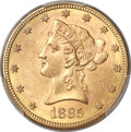 Liberty Eagles, 1885-S $10 MS64 PCGS Secure....