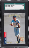 Baseball Cards:Singles (1970-Now), 1993 SP Derek Jeter Foil #279 SGC 96 Mint 9....