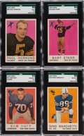 Football Cards:Sets, 1959 Topps Football Collection (243) With Stars....