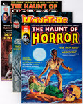 Magazines:Horror, Haunt of Horror/Monsters Unleashed Group of 8 (Marvel, 1973-74) Condition: FN/VF.... (Total: 8 Comic Books)