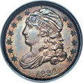 Bust Dimes, 1834 10C Large 4, JR-2, R.3, MS65 NGC....