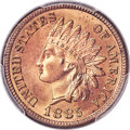 Indian Cents, 1885 1C MS66 Red PCGS Secure....