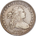 Early Dollars, 1797 $1 10x6 Stars, Large Letters, B-3, BB-71, R.2, VF25 PCGS....