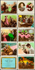 "Movie Posters:Academy Award Winners, Gone with the Wind (MGM, 1939). Roadshow Color Glos Photo Set of 10 (8"" X 10"") with Original Studio Envelope, Dan Sayre Groe... (Total: 10 Items)"