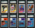 Hockey Cards:Sets, 1974 Through 1977 O-Pee-Chee WHA Hockey Complete Set Run (4)....