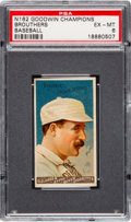 """Baseball Cards:Singles (Pre-1930), 1888 N162 Goodwin """"Champions"""" Dan Brouthers PSA EX-MT 6...."""