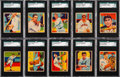 Baseball Cards:Lots, 1934-36 Diamond Stars Baseball SGC Graded Collection (31)....