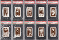 "Boxing Cards:General, 1938 Churchman ""Boxing Personalities"" Complete Set (50) - #13 onthe PSA Set Registry. ..."