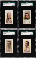 Baseball Cards:Lots, 1910-11 M116 Sporting Life Collection (45)....