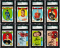 Hockey Cards:Sets, 1968 and 1971 Topps Hockey Complete Sets (2)....