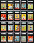 Baseball Cards:Sets, 1933 Goudey Baseball Near Set (228/239)....