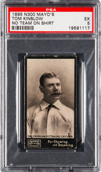 1895 N300 Mayo's Cut Plug Tom Kinslow (No Team) PSA EX 5