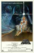 """Movie Posters:Science Fiction, Star Wars (20th Century Fox, 1977). Soundtrack One Sheet (27"""" X 41""""). Tom Jung Artwork.. ..."""