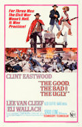 """Movie Posters:Western, The Good, the Bad and the Ugly (United Artists, 1968). One Sheet (27"""" X 41"""").. ..."""