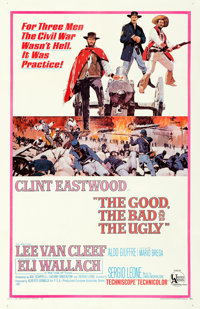 "The Good, the Bad and the Ugly (United Artists, 1968). One Sheet (27"" X 41"")"