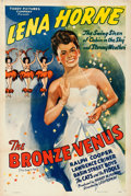 """Movie Posters:Black Films, The Bronze Venus (Toddy Pictures, R-1943). One Sheet (27"""" X 41"""")Original Title: The Duke is Tops.. ..."""