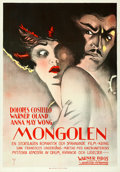 "Movie Posters:Drama, Old San Francisco (Warner Brothers, 1927). Swedish One Sheet (27.5""X 39.5"").. ..."