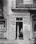 Photographs, Walker Evans (American, 1903-1975). Barber Shop, New Orleans, 1936. Gelatin silver. 9-5/8 x 7-1/2 inches (24.4 x 19.1 cm...