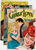 Silver Age (1956-1969):Romance, DC Romance Group of 6 (DC, 1950s-60s) Condition: Average FN+....(Total: 6 Comic Books)