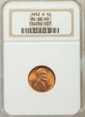 Lincoln Cents: , 1952-S 1C MS66 Red NGC. NGC Census: (1750/405). PCGS Population: (1852/182). CDN: $30 Whsle. Bid for problem-free NGC/PCGS ...