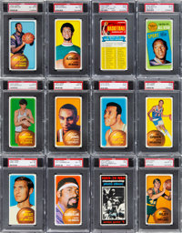 1970 Topps Basketball PSA-Graded Complete Master Set (176)