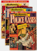 Golden Age (1938-1955):Crime, Authentic Police Cases #20, 35, and 36 Group (St. John, 1952-54).... (Total: 3 Comic Books)